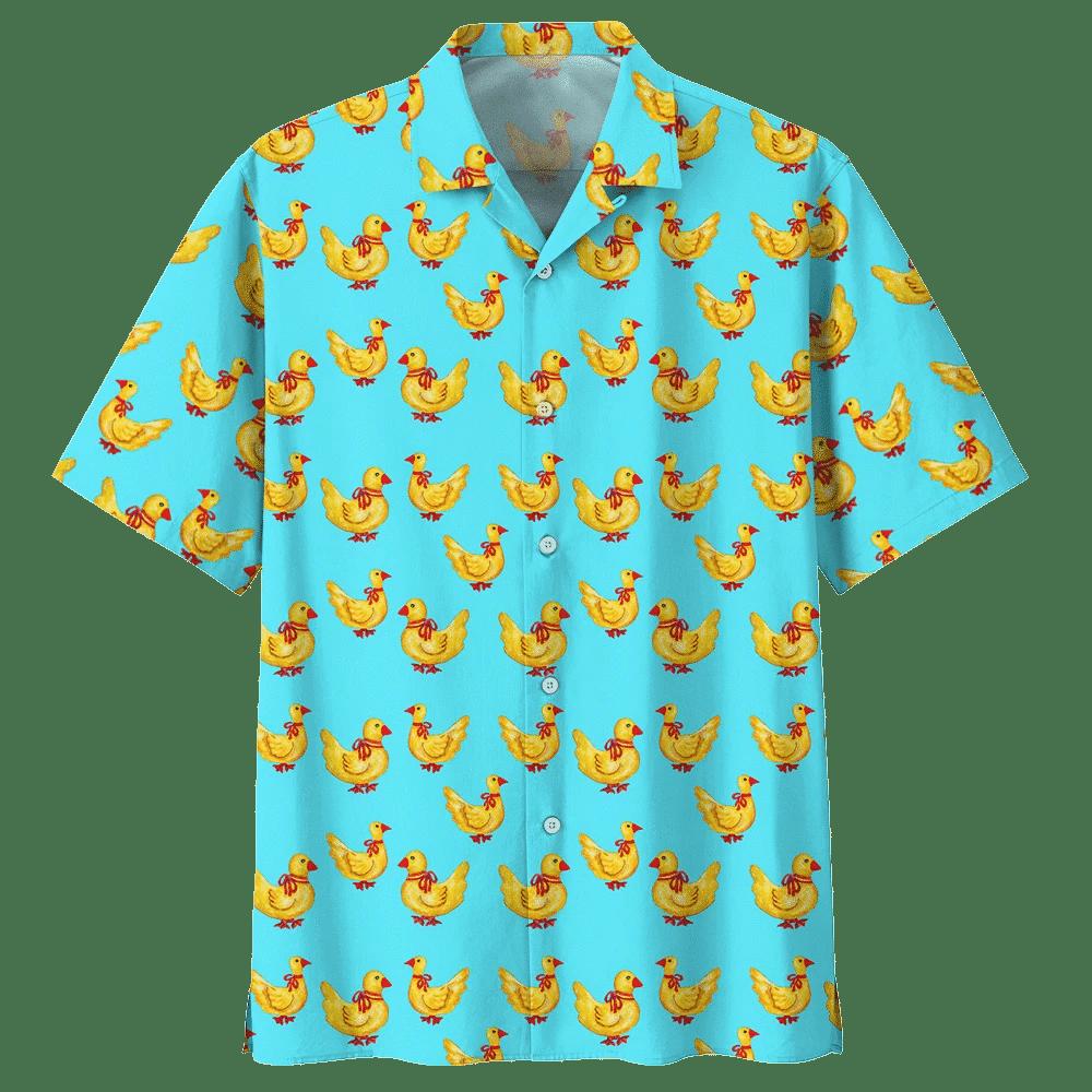 DUCK HAWAIIAN SHIRT 241119