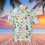 Taco Bell Hawaiian Shirt Taco Bell Button Up Shirt For Men Women Gift