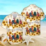 Hawaiian Aloha Shirts Roosters Youre My Sunshine 100821L