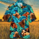 Beefmaster Cattle Lovers Hawaiian Shirt