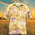 Pig Lovers Farm Hawaiian Shirt