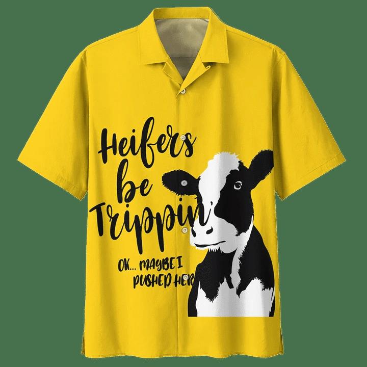 COW HAWAIIAN SHIRT 8