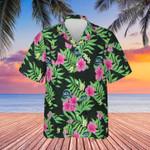Monster Hibiscus Flower Summer Shirt Halloween Hawaiian Shirt Gifts For Friend