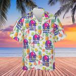 Taco Bell Hawaiian Shirt Mens Summer Button Down Shirt Gift Ideas For Him