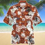 Appaloosa Horse Red Tribal Pattern Hawaii Shirt