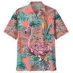 FLAMINGO Hawaiian Apparel  NHXT1205A