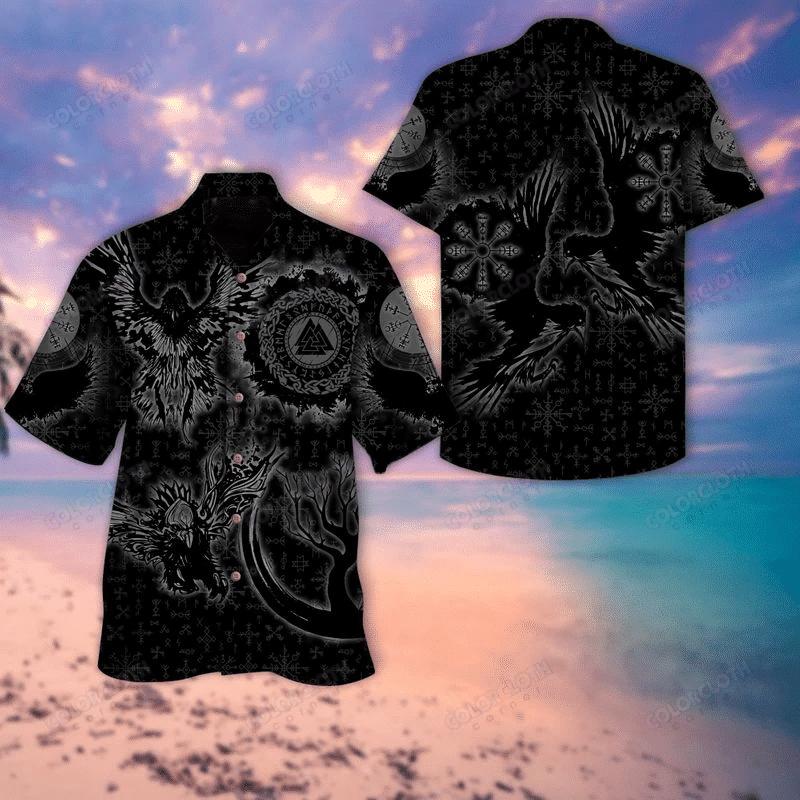 Dark Viking Hawaiian Shirt TV032313
