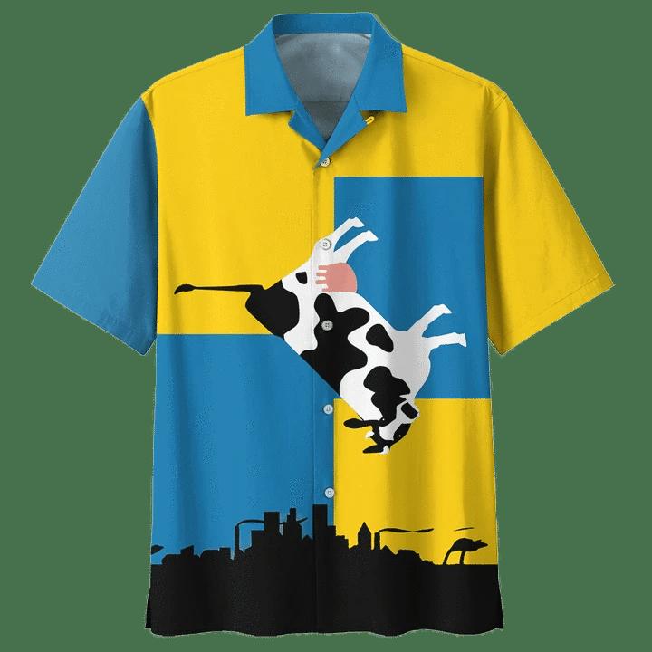 COW HAWAIIAN SHIRT 10