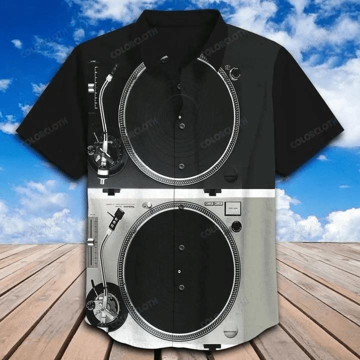 DJ Sound Hawaiian Shirt TV398812