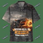 AMAZING HOT ROD ON FIRE HAWAIIAN SHIRT HL23604