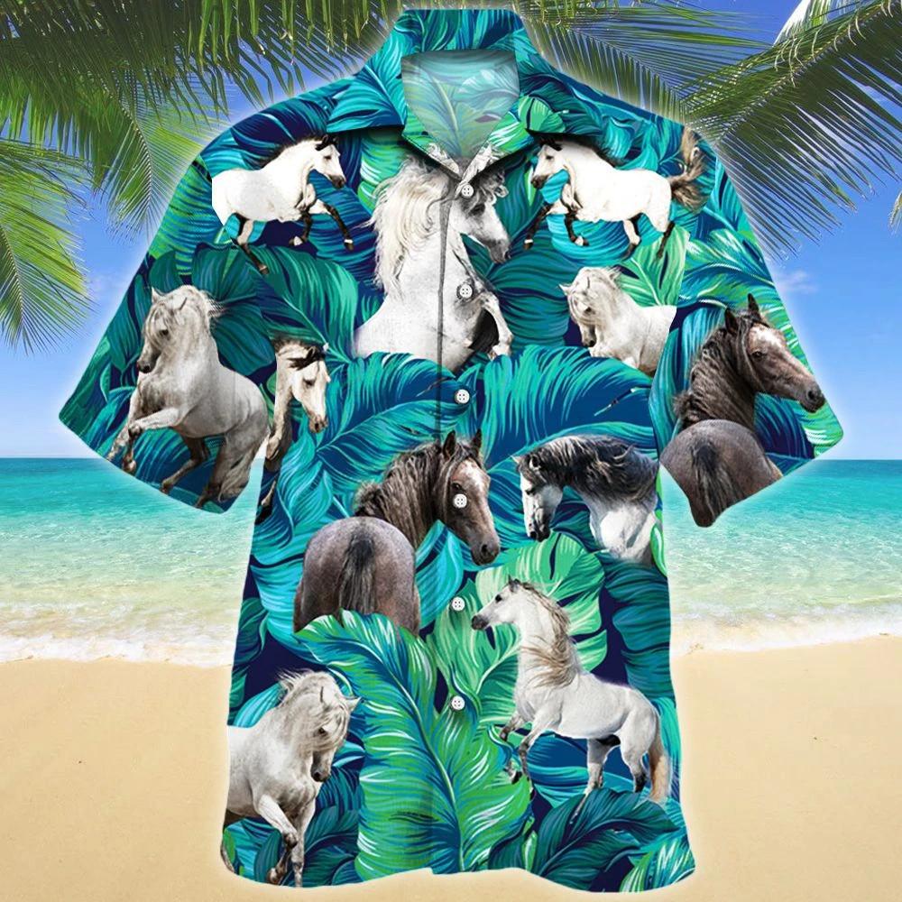 Andalusian Horse Lovers Hawaii Shirt