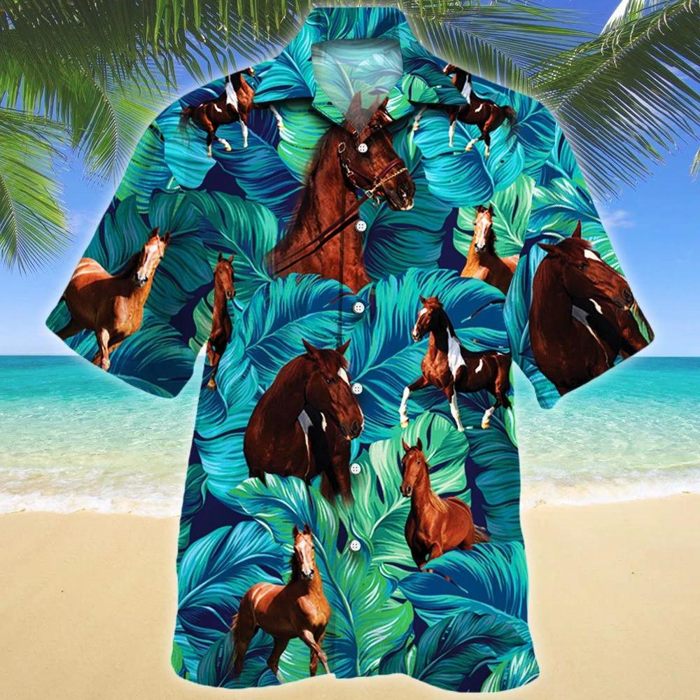 American Saddlebred Horse Lovers Hawaii Shirt
