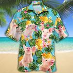 Pig Lovers Pineapple Hawaiian Shirt