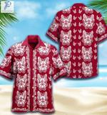 French Bulldog Sugar Skull Halloween Unisex Hawaiian Shirts KV