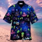 Coffee Neon Hawaiian Shirt TY074002