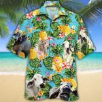 Men Brahman Cattle Shirt Green Brahman Cow Hawaii Shirt BRAHMAN CATTLE LOVERS HAWAIIAN SHIRT 956864