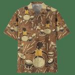 Man Hawaii Shirt DRUM HAWAIIAN SHIRT 850614 Shirt for Music Lover Drum Gift Idea