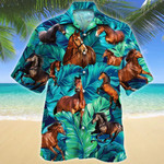 Thoroughbred Horse Lovers Hawaii Shirt