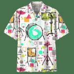 DRUM HAWAIIAN SHIRT 696290