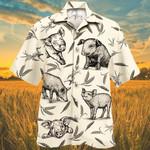 Pig Farm Lovers Hawaiian Shirt