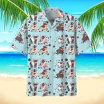 Cow Hawaiian Beach Shirt 5