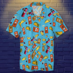 Taco Bell Hawaiian Shirt Swimtrunks Gift For Taco Lovers