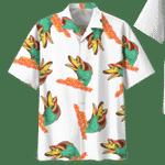 DUCK HAWAIIAN SHIRT 332110