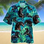 Friesian Horse Lovers Hawaii Shirt
