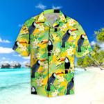 Parrots Hibiscus Tropical Hawaii Shirt
