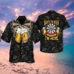 Darts And Beer Thats Why Im Here Hawaiian Shirt TV700509 - RE