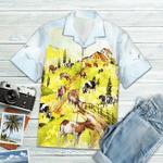 Cow On The Farm Hawaiian Shirt TV336611