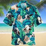 Brahman Cattle Shirt Green Brahman Cow Hawaii Shirt Green BRAHMAN CATTLE LOVERS HAWAIIAN SHIRT 401987
