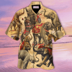 Amazing Elephant Circus Show Unisex Hawaiian Shirt TY045119
