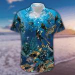 Amazing Blue Scuba Diving Hawaii Shirts HT110611
