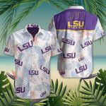 LSU Tigers Hawaiian Shirt Mens Beach Shirts Gifts For Football Lovers