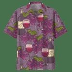 WINE HAWAIIAN SHIRT 563567