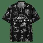 WINE HAWAIIAN SHIRT 901373