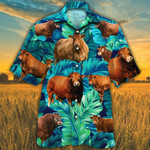 Limousin Cattle Lovers Hawaiian Shirt