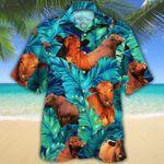 MEN RED ANGUS Beach Shirt Green CATTLE LOVERS SUNFLOWER HAWAIIAN SHIRT Red Angus Hawaii Shirt CATTLE LOVERS HAWAIIAN SHIRT