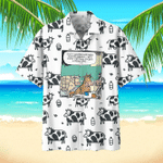 Cow Hawaiian Beach Shirt 1