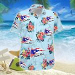 Hawaiian Aloha Shirts Puerto Rico Vintage Flowers