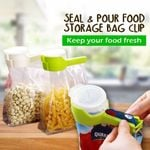 Easy Pour Seal - Food Storage Bag Sealing Clip