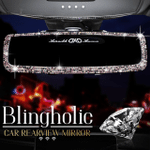 🔥 Blingholic Car Rearview Mirror