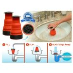 Pressure Clean Plumber Cannon Clog