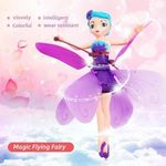 UK-Magic Flying Fairy Princess Doll