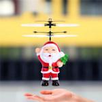 UK - Santa Flying Heliball