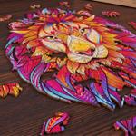UK - Amazing Magic Wooden Jigsaw Puzzle