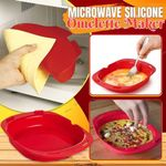 🎉 Microwave Silicone Omelet Maker