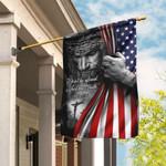 Jesus. Christian. Don't Be Afraid. Just Have Faith Flag