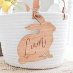 Customized Bunny Easter Name Tags